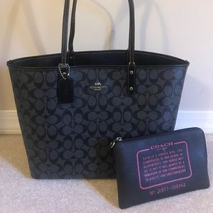 Coach Bags - Authentic reversible coach tote!